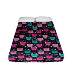 Cute Cats Iv Fitted Sheet (full/ Double Size) by tarastyle