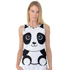 Bear Panda Bear Panda Animals Women s Basketball Tank Top by Nexatart