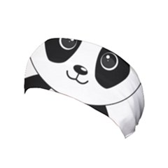 Bear Panda Bear Panda Animals Yoga Headband by Nexatart