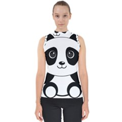 Bear Panda Bear Panda Animals Shell Top