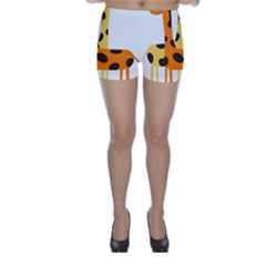 Giraffe Africa Safari Wildlife Skinny Shorts