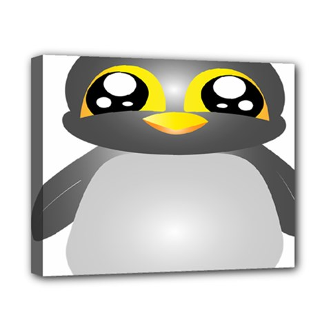Cute Penguin Animal Canvas 10  X 8  by Nexatart