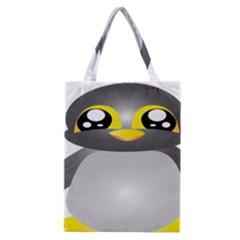 Cute Penguin Animal Classic Tote Bag by Nexatart