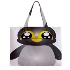 Cute Penguin Animal Zipper Mini Tote Bag