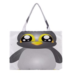 Cute Penguin Animal Medium Tote Bag