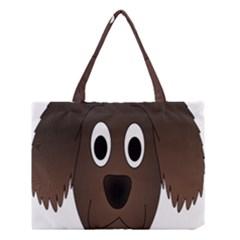 Dog Pup Animal Canine Brown Pet Medium Tote Bag by Nexatart