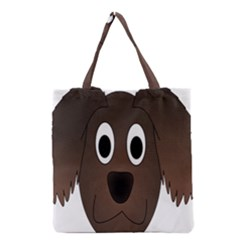 Dog Pup Animal Canine Brown Pet Grocery Tote Bag