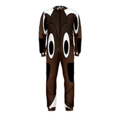 Dog Pup Animal Canine Brown Pet Onepiece Jumpsuit (kids)
