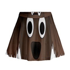 Dog Pup Animal Canine Brown Pet Mini Flare Skirt