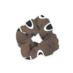 Dog Pup Animal Canine Brown Pet Velvet Scrunchie