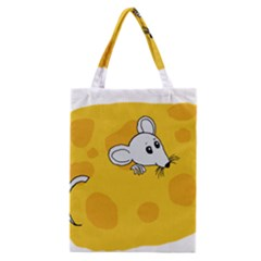 Rat Mouse Cheese Animal Mammal Classic Tote Bag