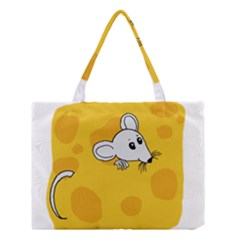 Rat Mouse Cheese Animal Mammal Medium Tote Bag by Nexatart