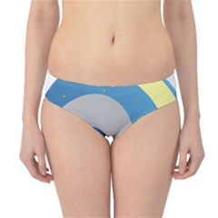 Ram Zodiac Sign Zodiac Moon Star Hipster Bikini Bottoms by Nexatart