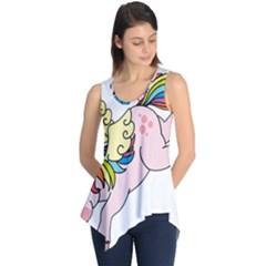Unicorn Arociris Raimbow Magic Sleeveless Tunic