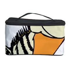 Zebra Animal Alphabet Z Wild Cosmetic Storage Case by Nexatart