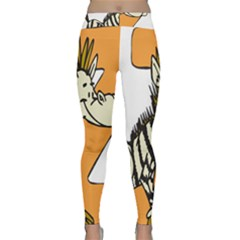 Zebra Animal Alphabet Z Wild Classic Yoga Leggings