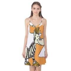 Zebra Animal Alphabet Z Wild Camis Nightgown