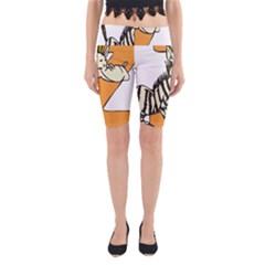 Zebra Animal Alphabet Z Wild Yoga Cropped Leggings