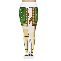 Elephant Indian Animal Design Women s Tights