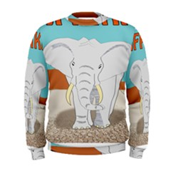 Africa Elephant Animals Animal Men s Sweatshirt