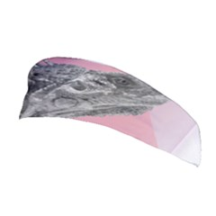 Lizard Hexagon Rosa Mandala Emblem Stretchable Headband