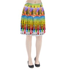 African American Women Pleated Skirt by AlteredStates