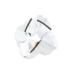 Gallery For  Abstract White Velvet Scrunchie by amphoto