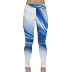 Line Light Strip Background 47114 3840x2400 Classic Yoga Leggings by amphoto