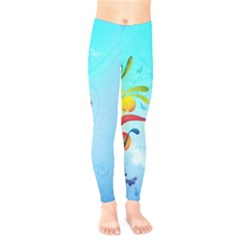 Patterns Multicolored Colorful  Kids  Legging