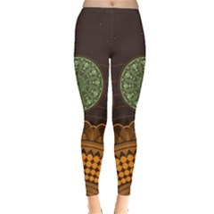 Divination Planets Colorful Rotation Leggings  by amphoto