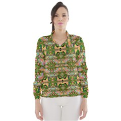 Star Shines On Earth For Peace In Colors Wind Breaker (women) by pepitasart
