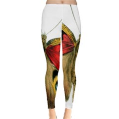 Butterfly Bright Vintage Drawing Leggings