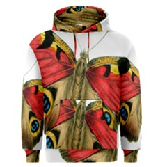 Butterfly Bright Vintage Drawing Men s Pullover Hoodie