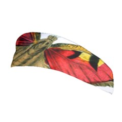 Butterfly Bright Vintage Drawing Stretchable Headband