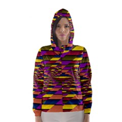Autumn Check Hooded Wind Breaker (women)