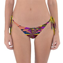 Autumn Check Reversible Bikini Bottom