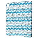 Baby Blue Chevron Grunge Apple iPad Pro 9.7   Hardshell Case View3