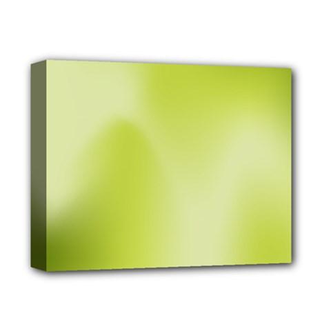 Green Soft Springtime Gradient Deluxe Canvas 14  x 11