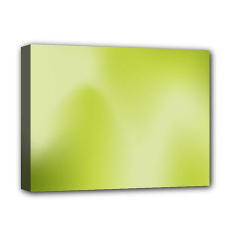 Green Soft Springtime Gradient Deluxe Canvas 16  X 12