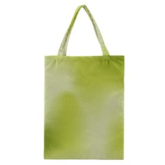 Green Soft Springtime Gradient Classic Tote Bag by designworld65
