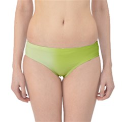 Green Soft Springtime Gradient Hipster Bikini Bottoms