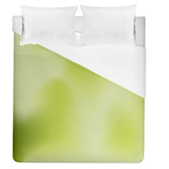 Green Soft Springtime Gradient Duvet Cover (queen Size)