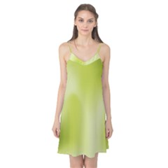 Green Soft Springtime Gradient Camis Nightgown
