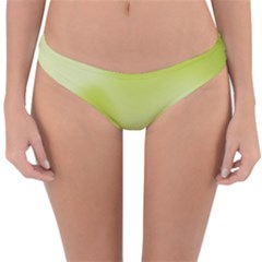 Green Soft Springtime Gradient Reversible Hipster Bikini Bottoms
