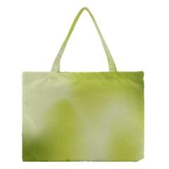 Green Soft Springtime Gradient Medium Tote Bag by designworld65