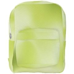 Green Soft Springtime Gradient Full Print Backpack