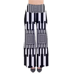 Black Stripes Endless Window Pants by designworld65
