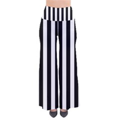 Black And White Stripes Pants
