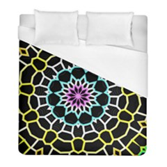 Colored Window Mandala Duvet Cover (full/ Double Size) by designworld65