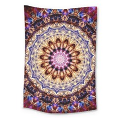 Dreamy Mandala Large Tapestry by designworld65